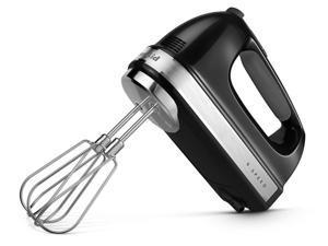 KitchenAid 9-Speed Hand Mixer, Onyx Black