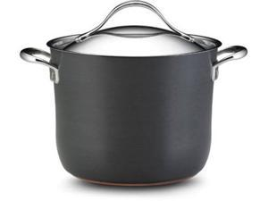 Anolon 8-qt. Nonstick Nouvelle Copper Covered Stockpot