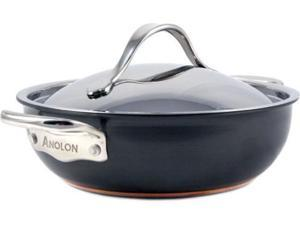 Anolon 3-qt. Nonstick Nouvelle Copper All-Purpose Pan