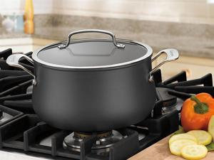 Cuisinart 5-qt. Nonstick Contour Hard-Anodized Dutch Oven with Lid