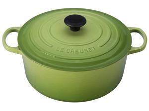 Le Creuset 7.25-qt. Round Cast-Iron Signature Enameled French Oven, Palm