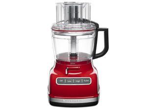 KitchenAid 11-c. Food Processor with ExactSlice, Empire Red