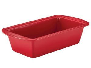 Silverstone 9x5-in. Ceramic Nonstick Loaf Pan, Red