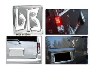 04-10 Scion Xb JDM Bb Silver Rear Trunk Emblem Badge