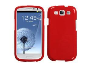Flaming Red Solid Protector Cover Case for Samsung Galaxy S III