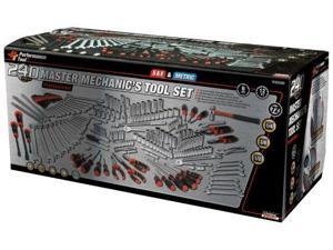 Performance Tool W30500, 240pc. Mechanics Tool Set