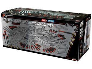 Performance Tool W30500, 240pc. Mechanics Tool Set