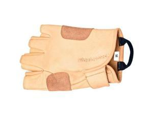 Grippy Leather Gloves Small/Full Finger - Great For Camping/Hiking