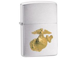 Zippo Marines Emblem Pocket Lighter -