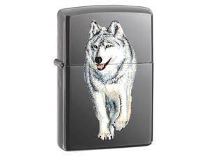 Zippo Wolf Black Ice Pocket Lighter -