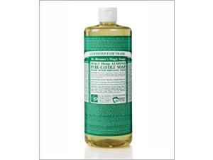 Dr Bronners Magic Pure-Castile Soap Organic Almond 32 Oz -