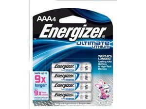 Energizer Ultimate Lithium Batteries , Aaa , 4-Count -