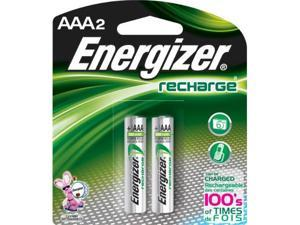 Energizer Nh12Bp-2 Aaa Nickel Rechargeable Battery (2-Pack) - Great For Camping/Hiking