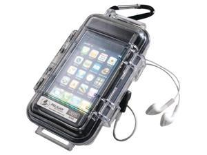 Pelican 1015-015-100 I1015 Iphone/Ipod Touch Case (Clear With Black Liner) - Great For Camping/Hiking