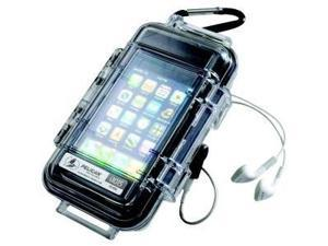 Pelican 1015-015-100 I1015 Iphone /Ipod Touch Case (Clear With Black Liner) -