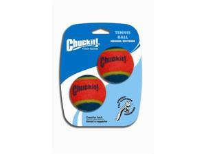 Chuckit! Tennis Ball Medium 2.5-Inch , 2 Pack -