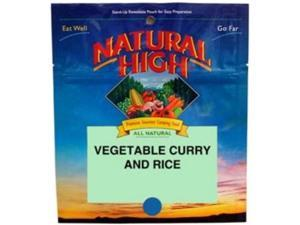 Natural High Vegetable Curry And Rice -