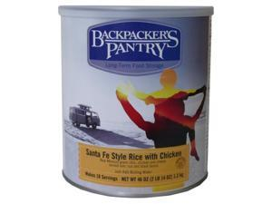 Backpacker'S Pantry Santa Fe Rice With Chicken, 46-Ounce -