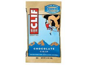 Clif Bar Energy Bar , Chocolate Chip , 2.4-Ounce Bars , 12 Count (Pack Of 2) -
