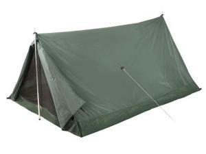 "Stansport ""Scout"" Backpack Tent (Forest Green, 6-Feet 6-Inch X4-Feet 6-Inch X 3-Feet) - 1 Man A Frm Tent 6'6X4'6X36"