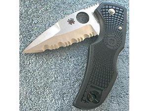 Spyderco C41Psbk Native Lockback Knife -