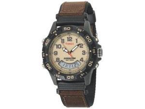 Timex Expedition Resin Combo Classic Analog Green/Black/Brn -