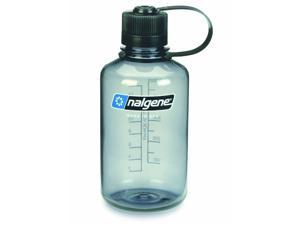 Nalgene Tritan Narrow Mouth Water Bottle - BPA Free (16 oz / Gray)