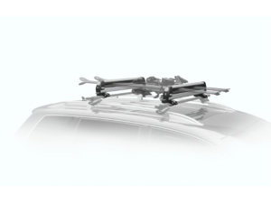 Thule Universal Pull Top 6-Pair Fat Skis with Locks Roof Rack Bars