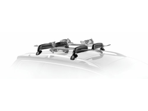 Thule 5401 Snowcat 6-Ski Roof Mount Carrier for Raised Rail Factory Racks