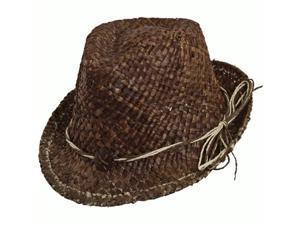 Dorfman Pacific 544694 Fedora Straw Hat Asst
