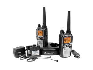 Midland Gxt860Vp4 42 Channel 36 Mile Two - Way RadiosMidland Gxt860Vp4 42 Channel Gmrs Radios  -  Black