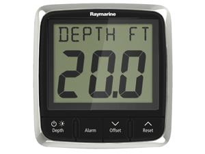 Raymarine E70148 i50 Depth Display System with Thru-Hull Transducer