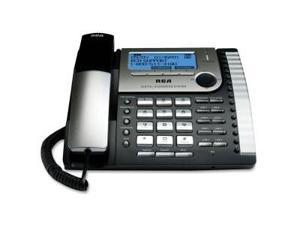RCA Products RCA25825 Business Phone- 8-Lines- Digital Recp- On Hold Music- BKSR