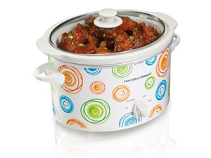 Hamilton Beach 33138 3 Qt. 3 Quart Slow Cooker
