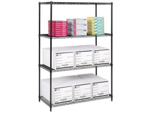 Safco 5294BL Industrial Wire Shelving