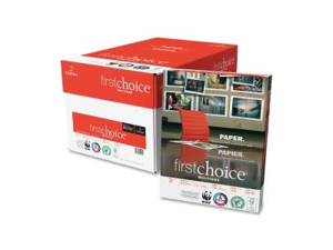 """Domtar 85761 First Choice Copy Paper For Inkjet, Laser Print - Letter - 8.50"""" x 11"""" - White"""