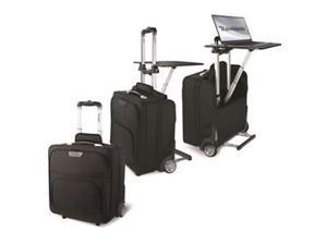 "Bond Street Travel/Luggage Case (Roller) for 17"" Notebook, Travel Essential - Black"