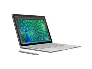 "Microsoft Surface Book SW5-00001 Ultrabook Intel Core i7 8 GB Memory 256 GB SSD NVIDIA GeForce Graphics 13.5"" 3000 x 2000  Touchscreen 5 MP Front / 8 MP Rear Camera Windows 10 Pro 64-Bit Bundle with P"