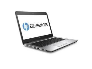 "HP Laptop EliteBook 745 G3 (T3L32UT#ABA) AMD A10-Series A10 PRO-8700B (1.80 GHz) 8 GB Memory 500 GB HDD AMD Radeon R6 Series 14.0"" Windows 7 Professional 64-Bit (downgrade from Windows 10 Pro)"