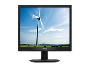 "PHILIPS 17S4LSB Black 17"" 5ms LED Backlight LCD Monitor"