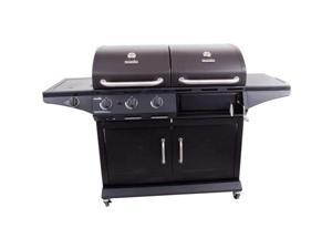Char-Broil  Charcoal Gas Combo 1010D  463724514  Black