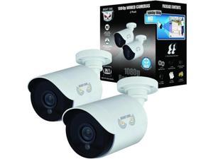 Night Owl Add–On 1080p HD Wired Security Bullet Cameras (2-Pack)