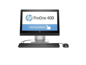 "HP All-in-One Computer ProOne 400 G2 (W5Y46UT#ABA) Intel Core i3 6th Gen 6100 (3.70 GHz) 4 GB DDR4 500 GB HDD 20"" Touchscreen Windows 10 Pro 64-Bit"