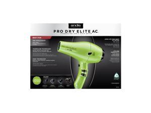 Andis ProDry Elite - Lime Green 1600W Dryer - 1600 W - Ionic - AC Supply Powered