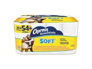 Essentials Soft Bathroom Tissue, 2-Ply, 4 x 3.92, 200/Roll, 24 Roll/Pack 96610