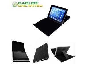 Corkcase ACC-CORK-60B iPad Case with Built-in Stand, Black