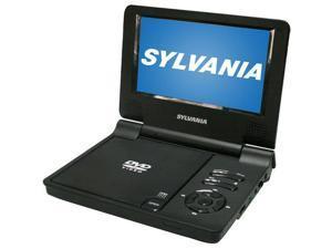"""Sylvania SDVD7051-R 7"""" Portable DVD Player"""