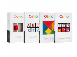 Osmo Genius Kit - Tangram pieces, Words and Number tiles TP-OSMO-02/B
