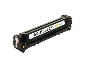HP Color LaserJet Pro CM1415fnw MFP CE322A Yellow Toner Cartridge, Compatible Brand