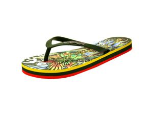 Ed Hardy Cancun Parrot Women's Flip Flops